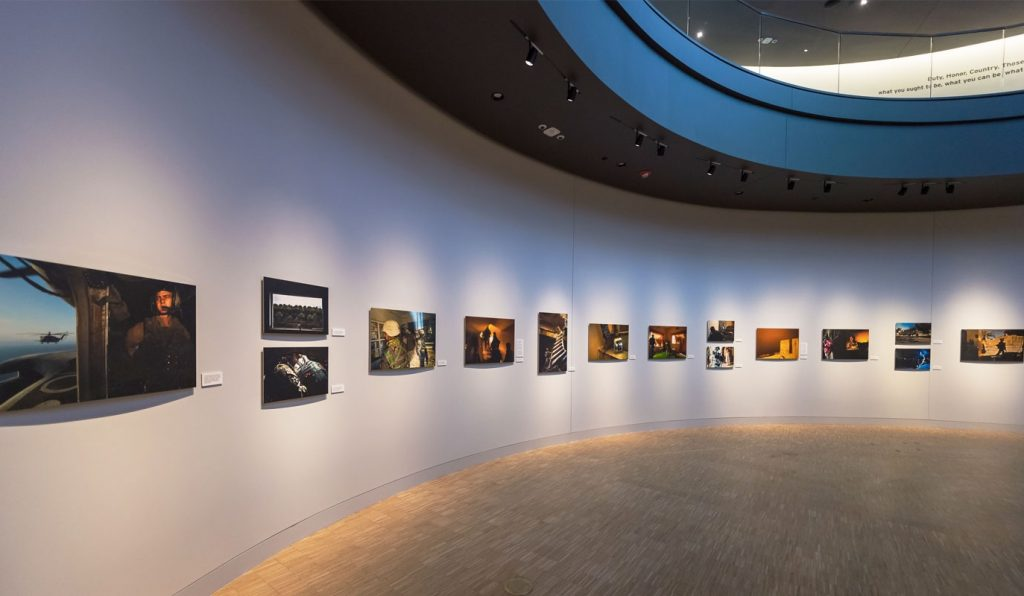 Gallery 33 at the National Veterans Memorial and Museum