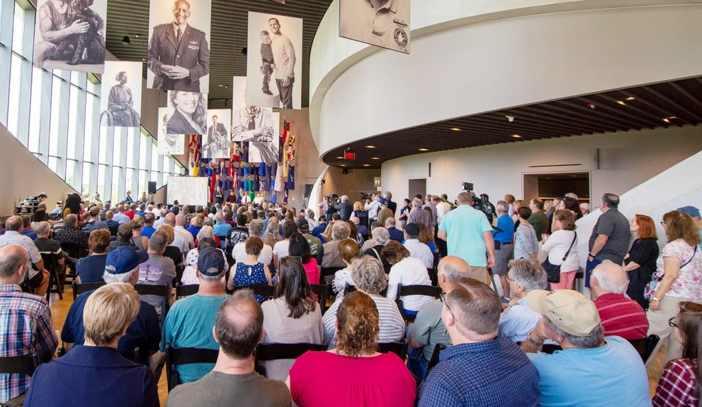National Veterans Memorial and Museum Event in Great Hall