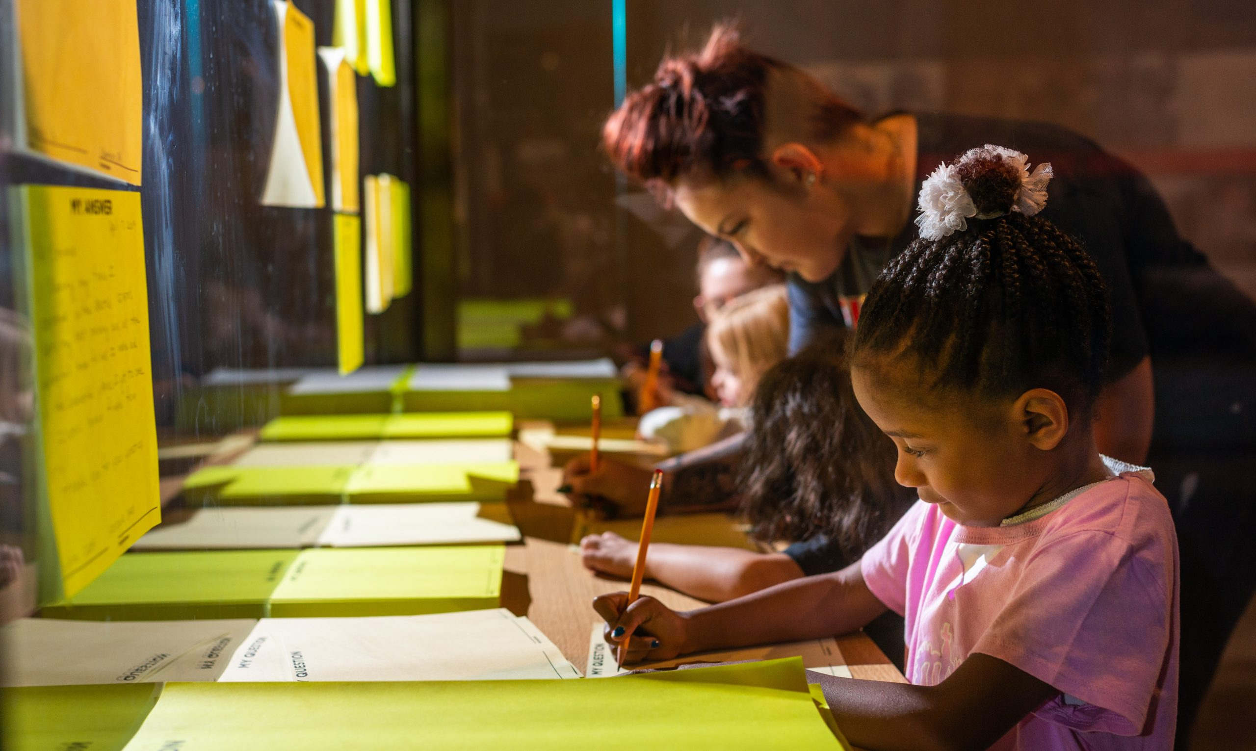Writing Letters in Museum