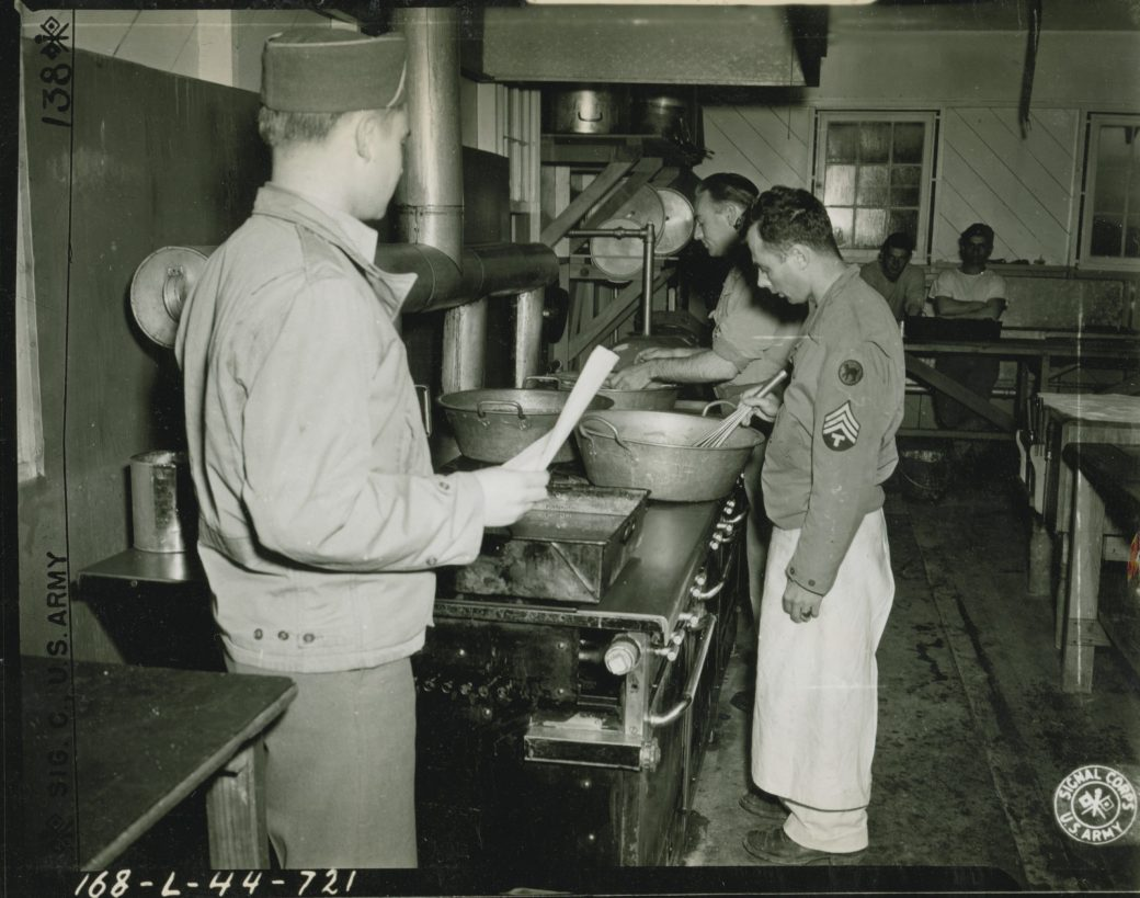 Army Cooking