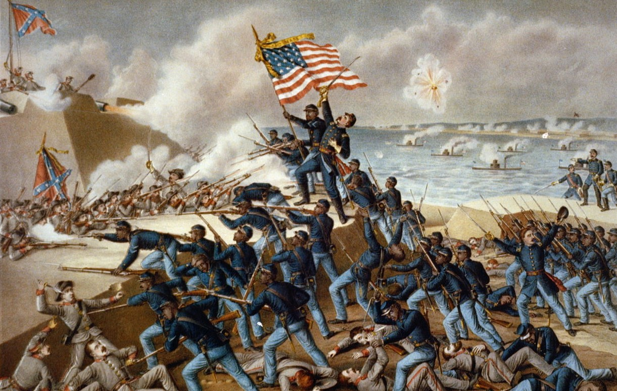 The Storming of Ft. Wagner